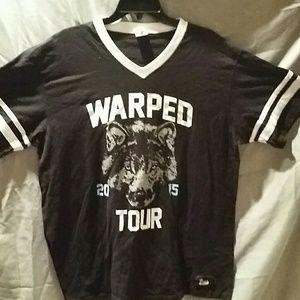 Warped 2015 tour shirt